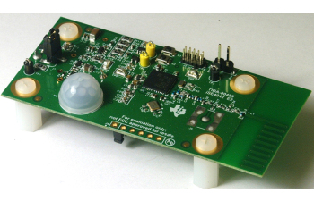 TIDA-01476 Low Power Wireless PIR Motion Detector Reference Design Enabling Sensor-to-Cloud Networks Board Image